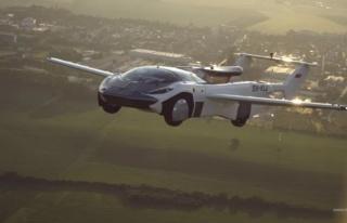 Uçan otomobiller gerçek oldu