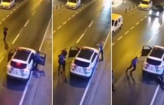 Ümraniye'de Polise Bıçakla Saldıran Zanlının...