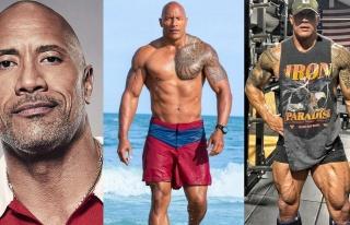 Ünlü aktör vücudunu 'geliştirmeyi' sürdürüyor