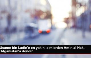 Usame bin Ladin'e en yakın isimlerden Amin al Hak,...