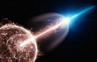 Uzayda müthiş patlama