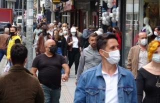 Vakaların en çok arttığı Zonguldak'ta haritada...