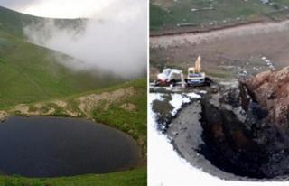 Valilik Onaylı Kazı: Gümüşhane'deki Dipsiz Göl'ün...