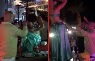 Vebitcoin'in CEO'sunun Dansözle Eğlenirken Görüntüleri...