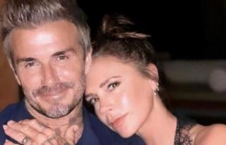 Victoria Beckham, David Beckham'ın kalçasını paylaştı
