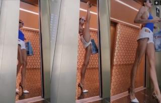 Vücudunu Muhteşem Bir Şekilde Esnetebilen Rus Jimnastikçi:...
