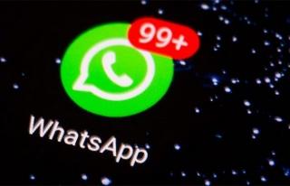 WhatsApp'tan mesaj kontrol işlevi