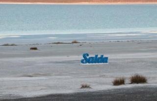 Yağışlar Çare Olmadı: Suların Çekildiği Salda...
