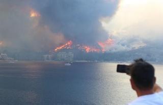 Yangın Felaketi Dünya Basınında Geniş Yer Buldu;...