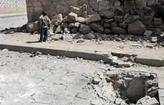 Yemen'de etkisiz hale getirilmek istenen bomba patladı:...