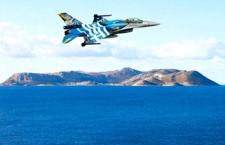 Yunanistan'dan yeni provokasyon! Sınırımızda F-16'lar...