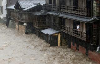 Yüz Binlerce Kişi Tahliye Edildi: Japonya'da Hagibis...