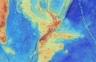 Zelandiya'nın haritaları yayımlandı