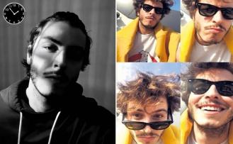 Boran Kuzum'um selfie dolu günleri