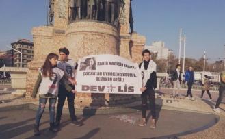 'Rabia Naz İçin Adalet' Pankartıyla Eylem Yapmışlardı: Gözaltına Alınan Dev-Lis Üyeleri Serbest Bırakıldı