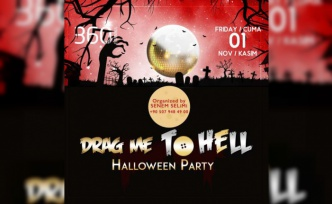 DRAG ME TO HELL COSTUME PARTY 3