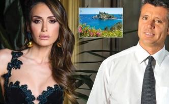 Emina Jahovic ve Sadettin Saran Sicilya Adası'nda aşk tatilinde