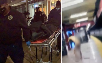 Metro İstasyonunda Çırılçıplak Dans Eden Adam, Bir Kişiyi Raylara Attıktan Sonra Elektrik Çarpması Sonucu Öldü