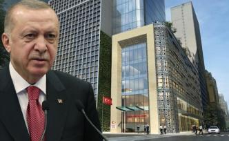 New York'taki Türkevi binasının açılışı yarın yapılacak Törene ABD'ye giden Cumhurbaşkanı Erdoğan da katılacak