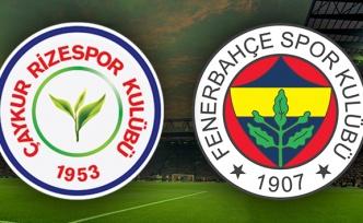 Rizespor Fenerbahçe Canlı İzle | Rize FB ilk 11'ler | Rizespor FB saat kaçta hangi kanalda