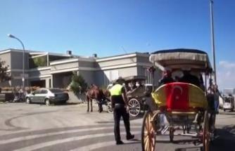 14:48 - Adalar'da Faytonlara 'Dumansız Hava Sahası' Denetimleri - İstanbul / Adalar