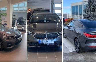 18 Yaş Hediyesi Olarak BMW 320 Alınan Kızın TikTok Videosu Biraz Moralinizi Bozabilir