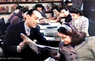 1964 ABD Yapımı 'Türkiye' Belgeselinden Alınan ve Renklendirilen Tarihi Görüntüler