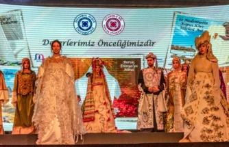 Anadolu tarihi moda defilesinde