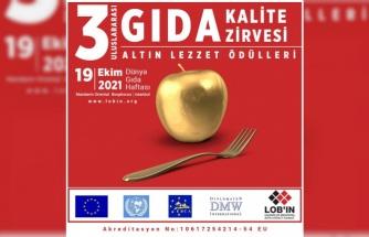 3.Uluslararası Gıda Kalite Zirvesi Lansmanı 26 Eylülde gerçekleşiyor.