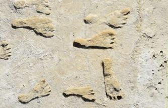 21.000 yıllık ayak izleri