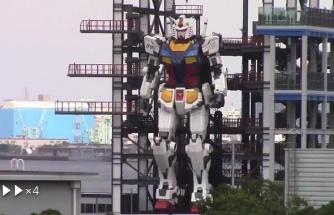 25 Ton Ağırlığında 18 Metrelik Robot Yapan Japonlardan Test Yürüyüşü