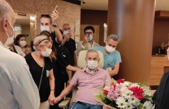 4 ay sonra yoğun bakımdan çıktı: Neden herkes maskeli?