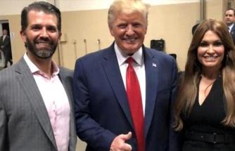 ABD Başkanı Trump'un oğlu Trump Jr'ın kız arkadaşı koronavirüse yakalandı