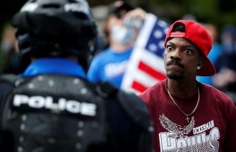 ABD'de George Floyd Protestoları: 25 Şehirde Sokağa Çıkmak Yasaklandı, Trump 'Radikal Sol Fena İnsanlar' Dedi