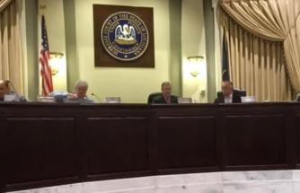 ABD'de Ida kasırgası nedeniyle yapılan toplantıda ekranlarda cinsel içerikli yayın yapıldı