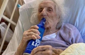 ABD'de Koronavirüsü 103 Yaşında Yenen Kadının İlk İsteği Bira Oldu