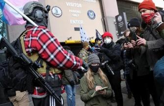 ABD'de Trump yanlısı silahlı gruplar sokaklara indi