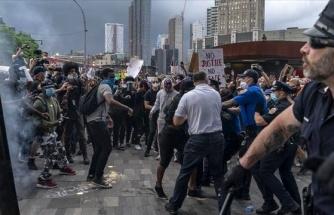 ABD'deki ayaklanma ateşi büyüyor! Göstericiler, polisleri öldürmeye başladı