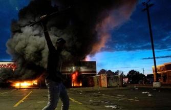 ABD polisi, siyahımsı protestocularla baş edemeyince Amerikan ordusu harekete geçti