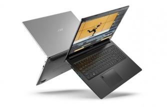Acer, yeni laptop'larını tanıttı
