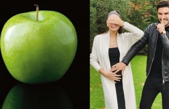 Almeda Abazi yeşil elmayı seçti