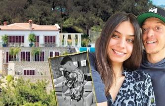 Amine Gülşe - Mesut Özil çifti Çeşme'de keyif çatıyor