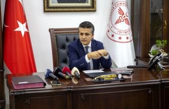 Ankara İl Sağlık Müdürü Akelma: 'Servis yataklarında doluluk oranımız yüzde 55'