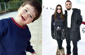 Arda Turan ve Aslıhan Doğan Turan'ın Hamza Arda'sı 3 yaşına bastı