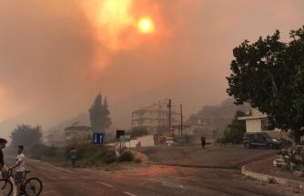 Aydın Söke'deki Yangın Büyüyor: 50 Ev Tahliye Edildi