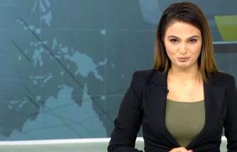 Azerbaycanlı spiker, 6 köyün Ermeni işgalinden kurtarıldığı müjdesini gözyaşları içinde verdi