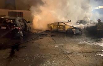 Bağdat'ta ABD Büyükelçiliği binasının bulunduğu Yeşil Bölge'ye roketli saldırı