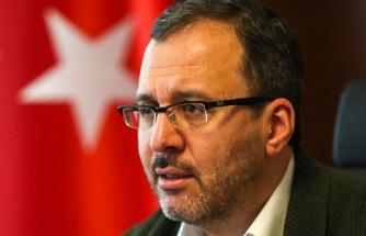 Bakan Kasapoğlu: 'Bu Süreçten güçlenerek, daha yüksek bir hedefle çıkacağız'