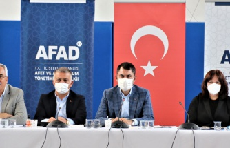 Bakan Kurum: 'Muğla ve Manavgat'ta bin 100 binanın yıkım çalışmasını tamamladık'