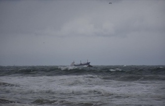 Bartın Açıklarında Rus Bandıralı Kuru Yük Gemisi Battı